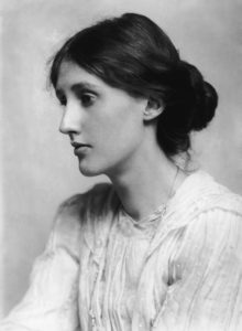 Virginia Woolf in 1902; photograph by George Charles Beresford