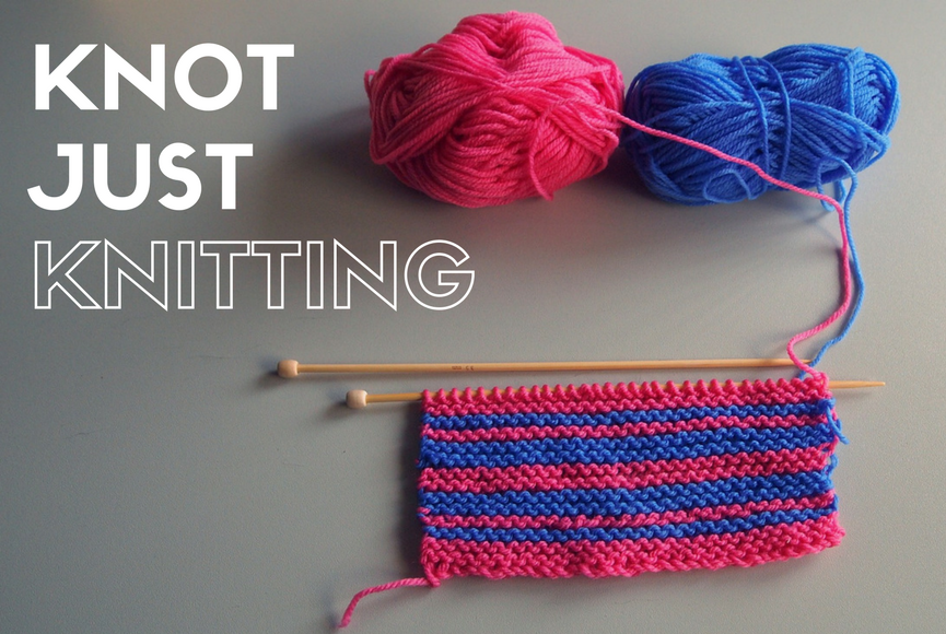 Knitting Joining Yarn Knot : Knot just knitting u2013 east sheen village