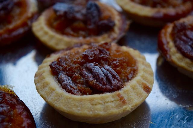 Tiny-pecan-treacle-tarts-recipe-lucyloves-east-sheen-village