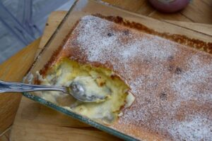 Passionfruit-saucy-pudding-lucyloves-recipe-east-sheen-village