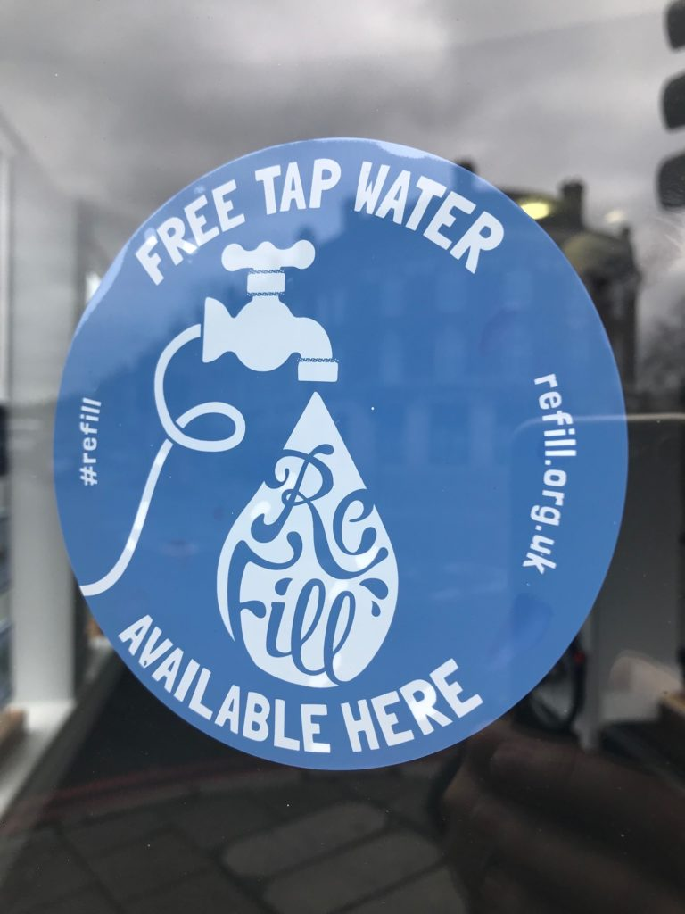Free water Refill point at Hamptons – East Sheen Village
