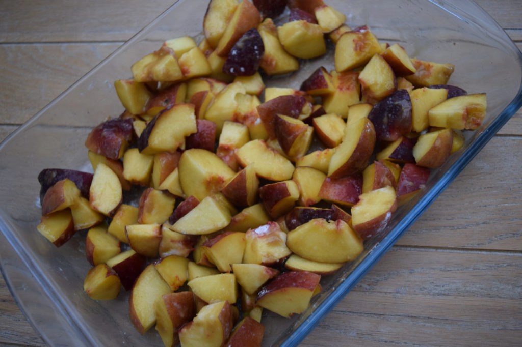 Peach Cobbler from Lucy Loves Food Blog