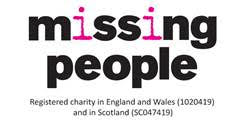 missing people charity logo