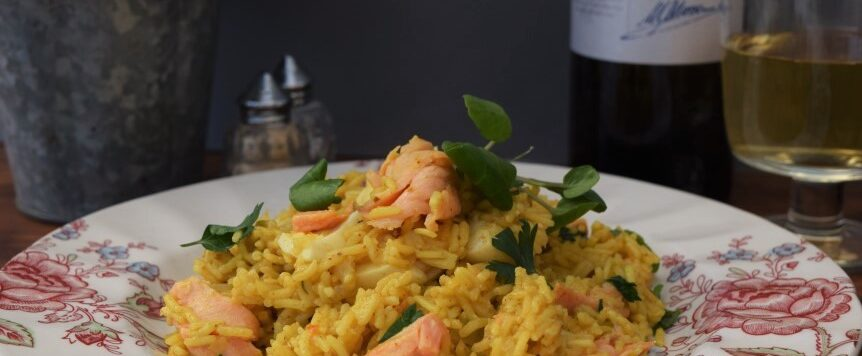 Lucy-loves-smoked-salmon-kedgeree-east-sheen-village