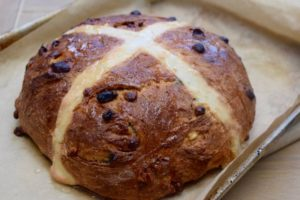 Giant-cranberry-white-chocolate-hot-cross-bun-recipe-lucyloves-east-sheen-village
