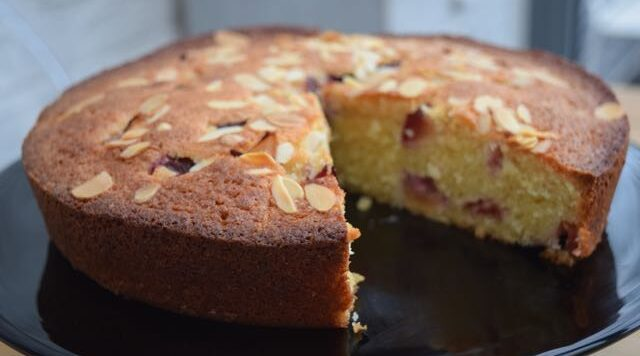 Coconut-almond-plum-cake-recipe-lucyloves-east-sheen-village