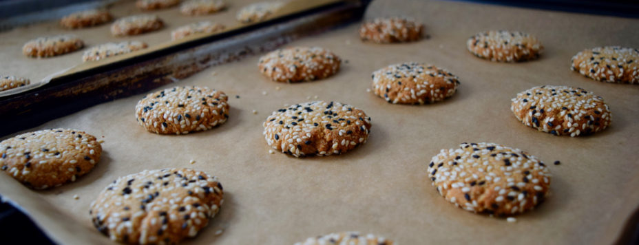 Tahini-sesame-cookies-recipe-lucyloves-east-sheen-village