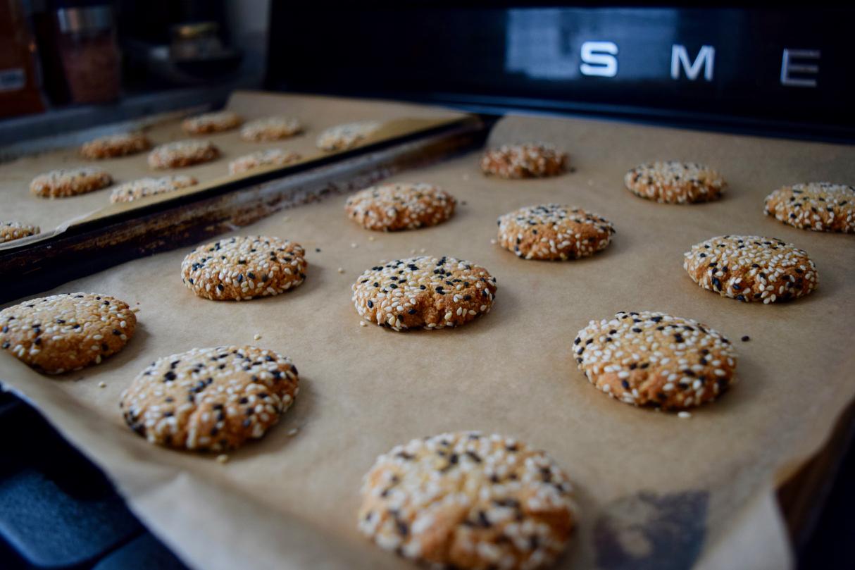 Tahini-sesame-cookies-recipe-lucyloves-east-sheen-village
