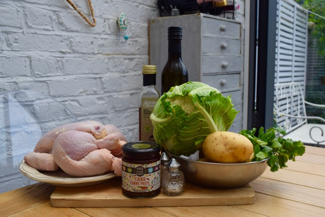 Tikka-chicken-traybake-recipe-lucyloves-east-sheen-village