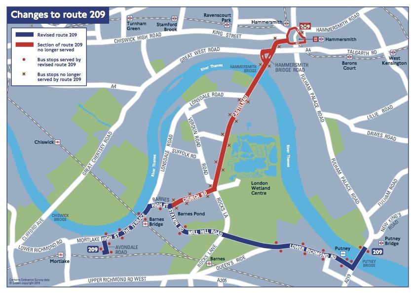 bus 209 route