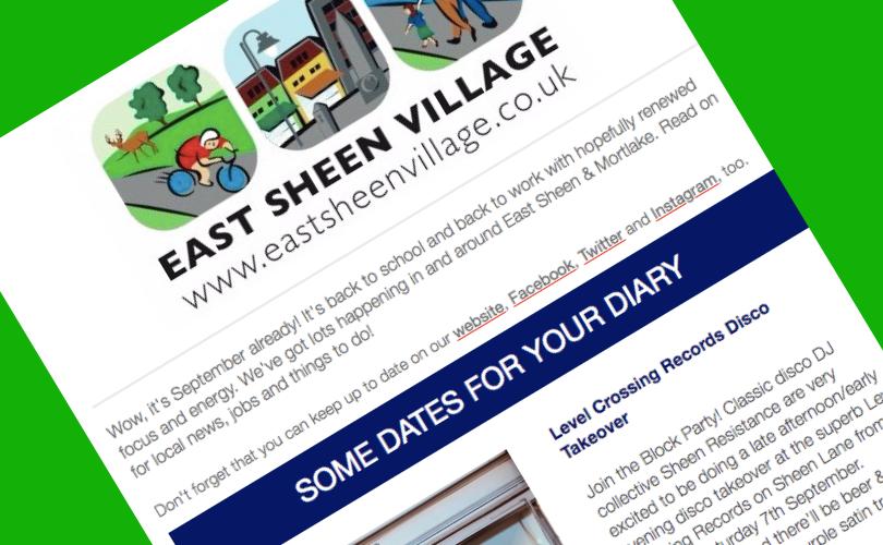 East Sheen Village News