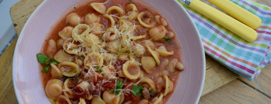 Tomato Brothy Pasta from Lucy Loves Food Blog
