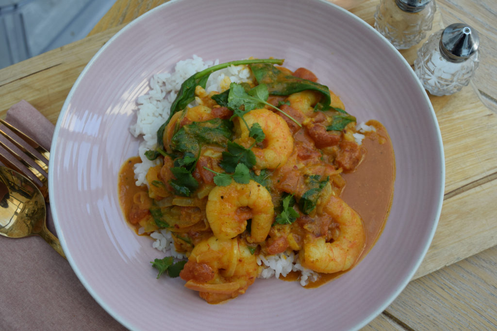 Lucy Loves Quick Coconut Prawn Curry recipe