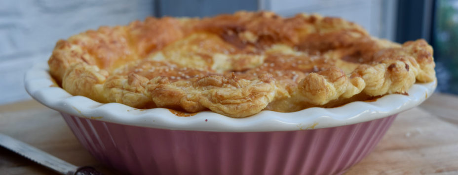 Spring Chicken Pie recipe from Lucy Loves Food Blog