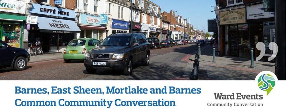 community conversation poster